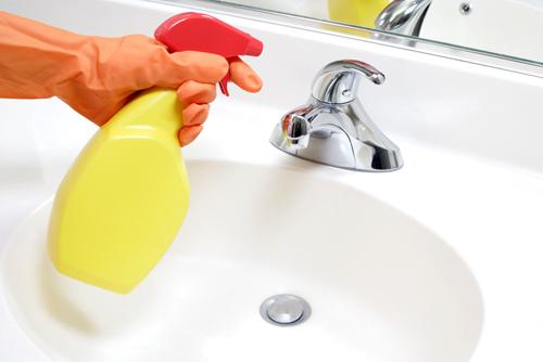 Уборка ванной комнаты максимально быстро